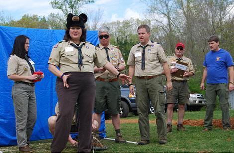 Troop Guides at Wood Badge S9-1-12-1