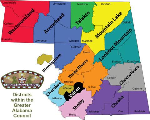 GAC-Districts