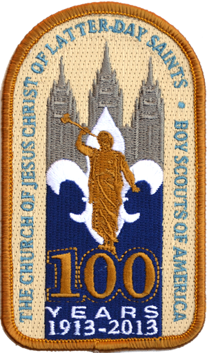LDS-100-years-patch