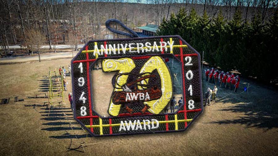 You can earn the Wood Badge 70th Anniversary Award