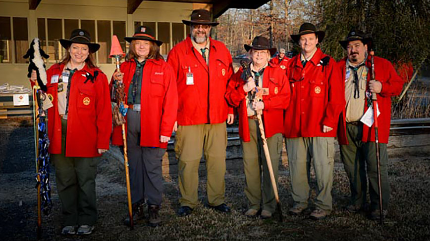 So you want to staff a wood badge course